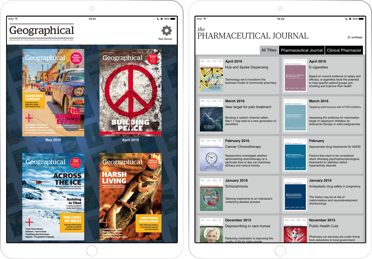 Royal Geographical Magazine and Pharmaceutical Journal